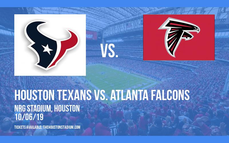 Houston Texans vs. Atlanta Falcons at NRG Stadium