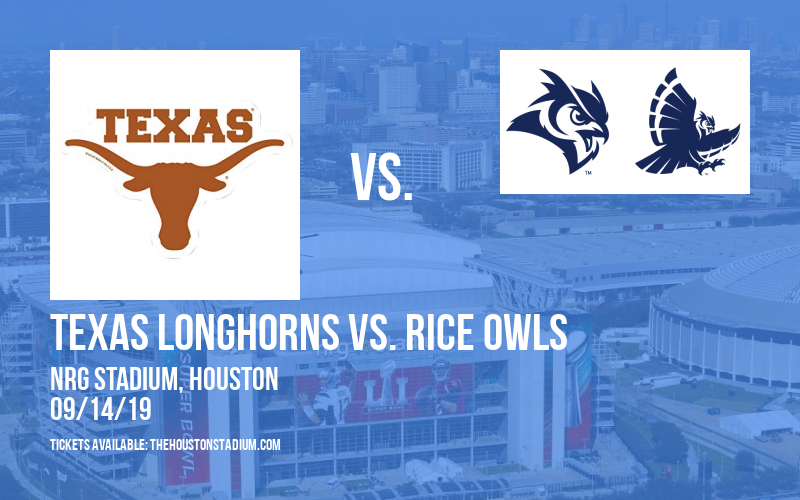 PARKING: Texas Longhorns vs. Rice Owls at NRG Stadium