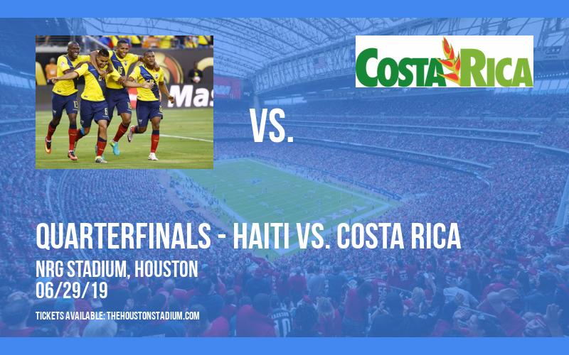 CONCACAF Gold Cup: Quarterfinals - Haiti vs. Canada & Mexico vs. Costa Rica at NRG Stadium