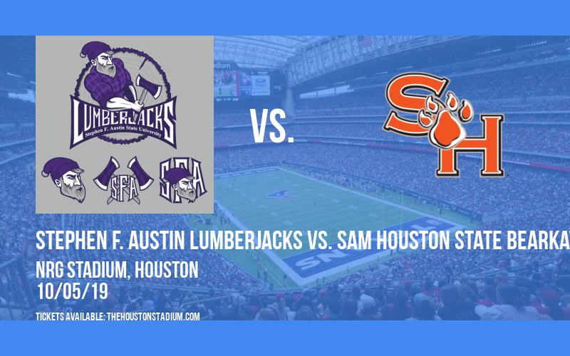 Battle of the Piney Woods: Stephen F. Austin Lumberjacks vs. Sam Houston State Bearkats at NRG Stadium