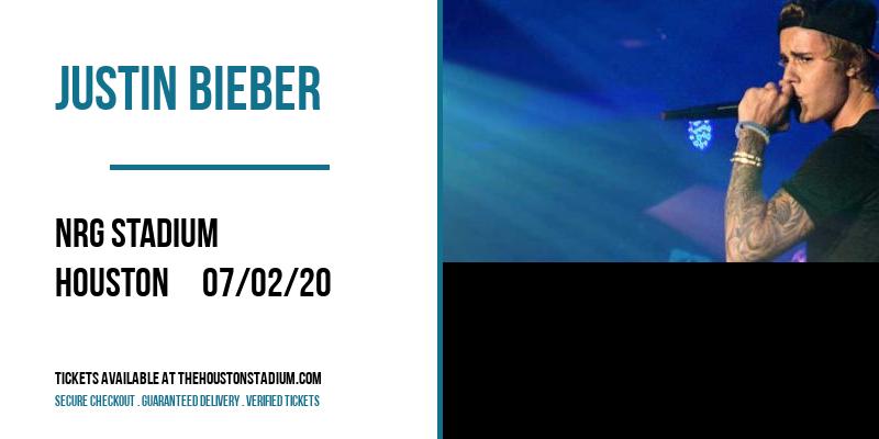 Justin Bieber at NRG Stadium