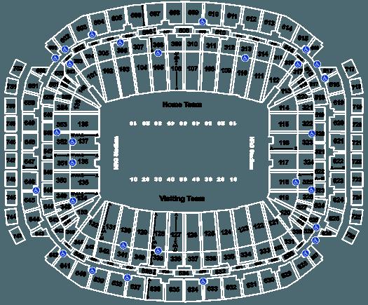 2020 Houston Texans Season Tickets (Includes Tickets To All Regular Season Home Games) at NRG Stadium