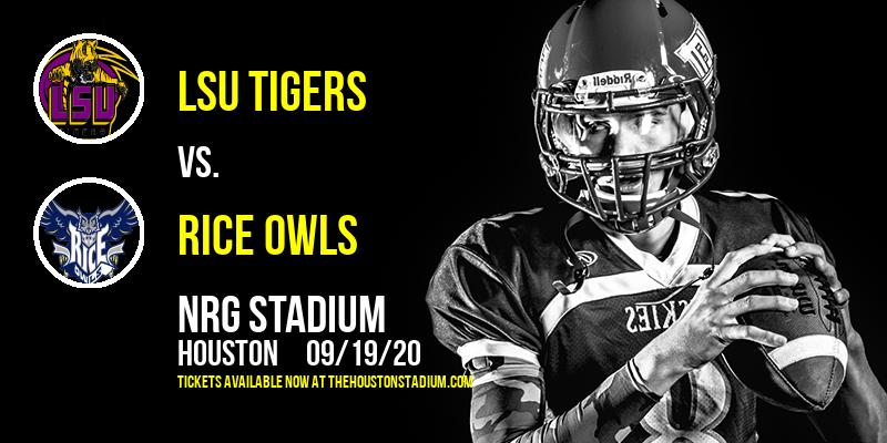 LSU Tigers vs. Rice Owls at NRG Stadium