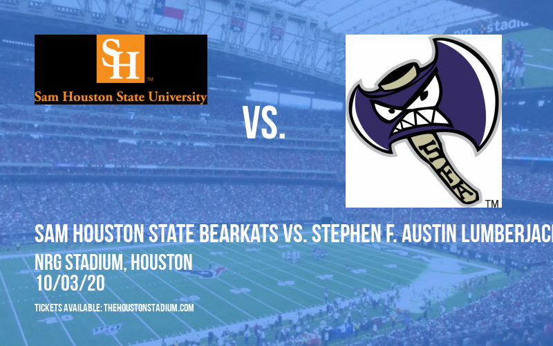 Sam Houston State Bearkats vs. Stephen F. Austin Lumberjacks at NRG Stadium