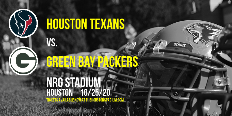 Houston Texans vs. Green Bay Packers at NRG Stadium
