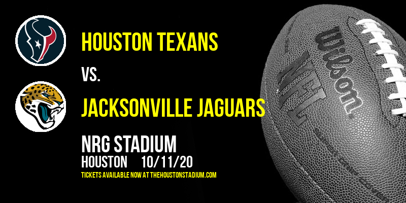 Houston Texans vs. Jacksonville Jaguars at NRG Stadium