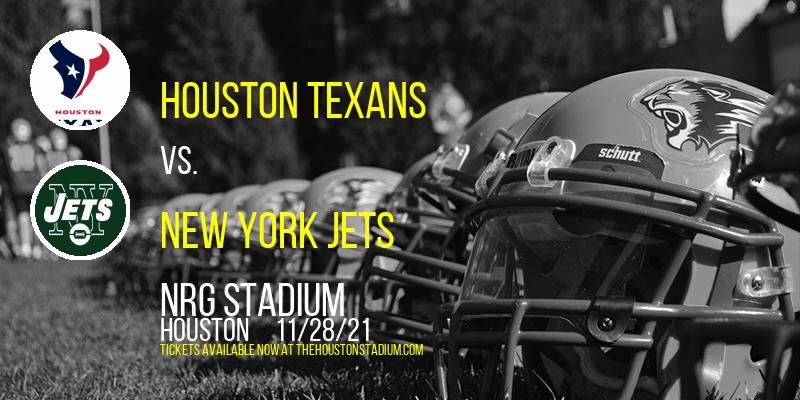 Houston Texans vs. New York Jets at NRG Stadium