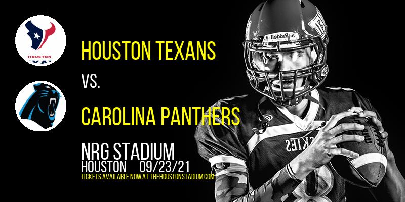 Houston Texans vs. Carolina Panthers at NRG Stadium