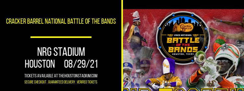 Cracker Barrel National Battle of the Bands at NRG Stadium