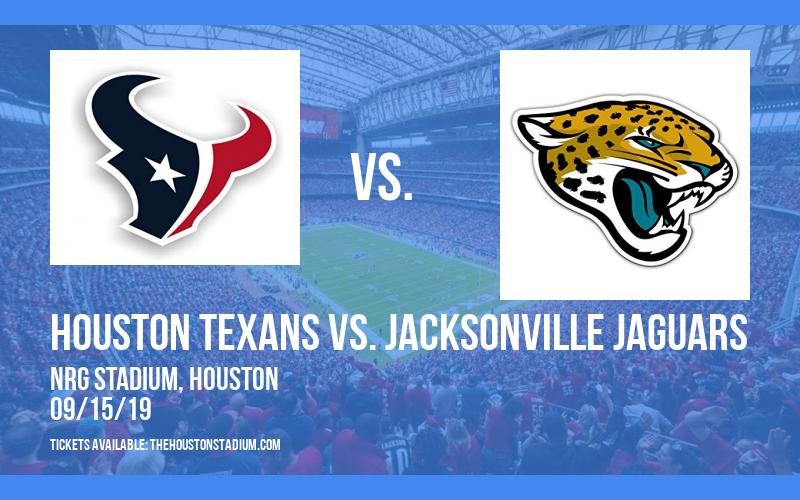 PARKING: Houston Texans vs. Jacksonville Jaguars at NRG Stadium