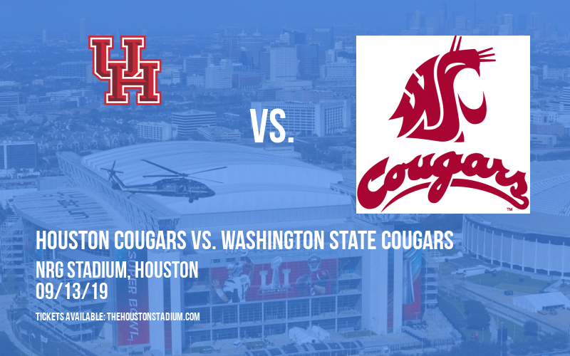 Advocare Texas Kickoff: Houston Cougars vs. Washington State Cougars at NRG Stadium