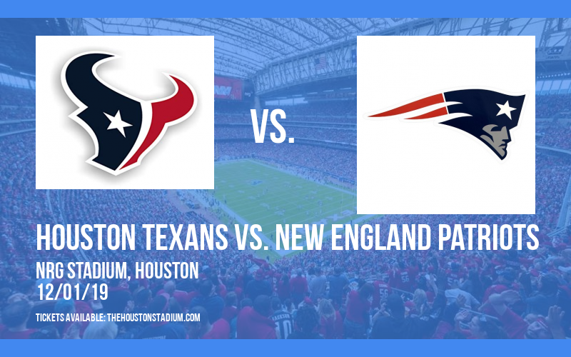 PARKING: Houston Texans vs. New England Patriots at NRG Stadium