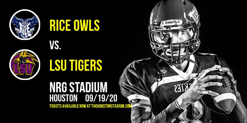 Rice Owls vs. LSU Tigers at NRG Stadium