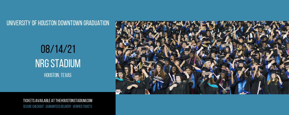 University Of Houston Downtown Graduation at NRG Stadium